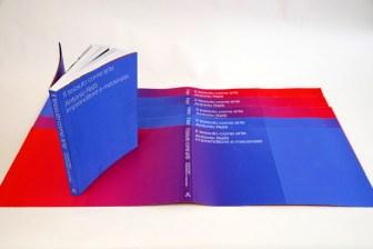 catalogo exposicion Antonio Ratti SYL tela efecto iridiscente plegado a la japonesa
