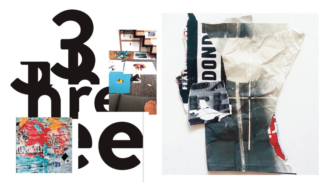 David Carson apuesta por los collages junto a SYL. obras que precisanprocesos especiales,libros exclusivos, fotografia, arte, grandes obras