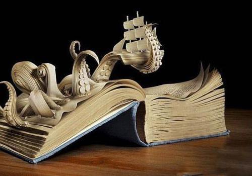 图书馆里的书籍