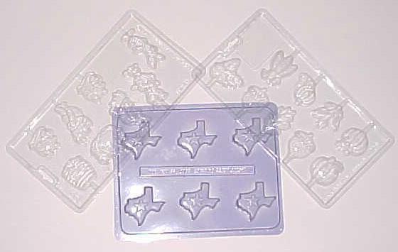 Silicone molds para sa plastic.