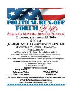 political run off forum