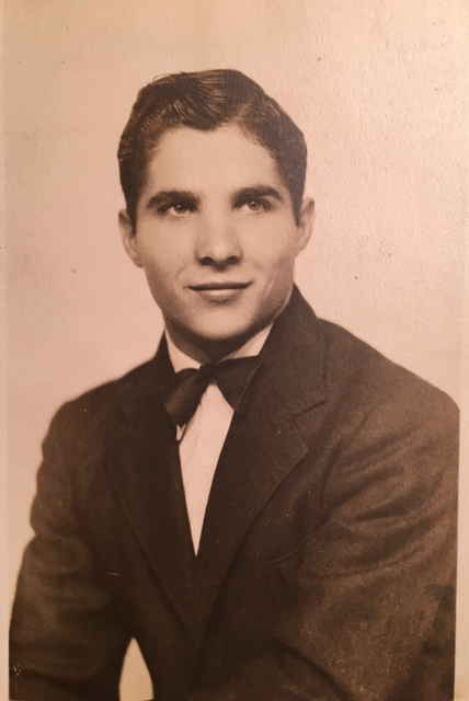Leonard Perry Hickman, senior portrait.