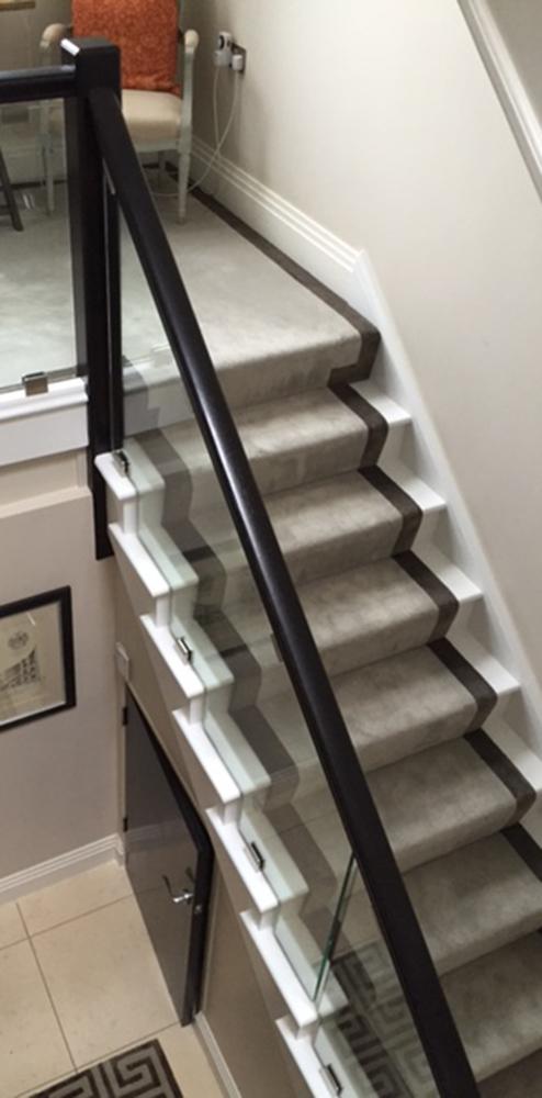 Stair Runner In London Residence Luxury Carpet Luxury Rugs Nusilk