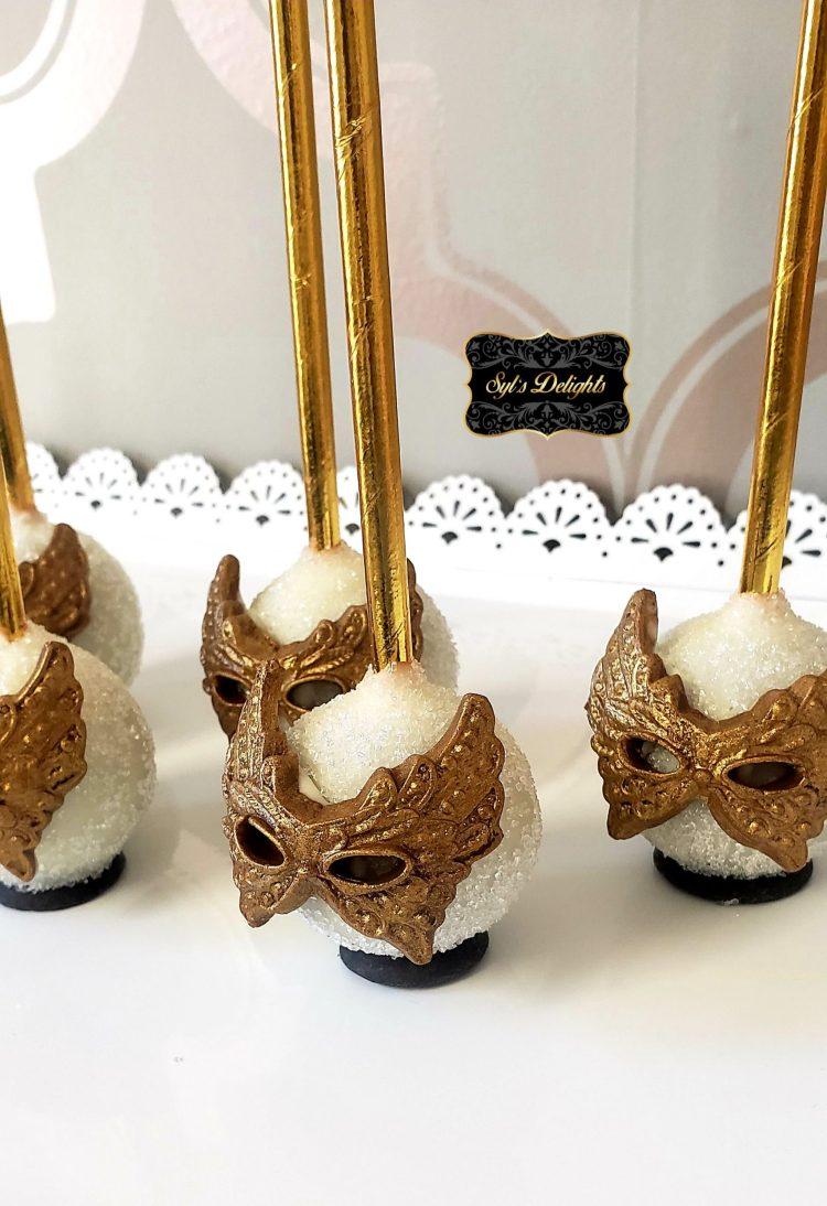 Masquerade Cakepops