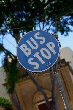 bus stop à malte