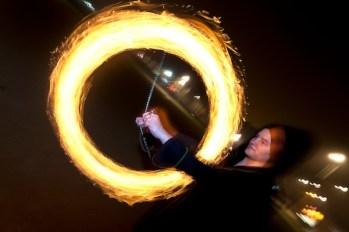jonglerie feu