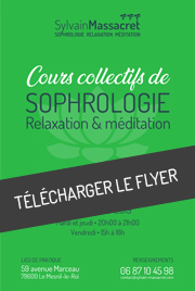 Cours collectifs adultes sophrologie - Sylvain Massacret - Téléchargement bulletin d'inscription