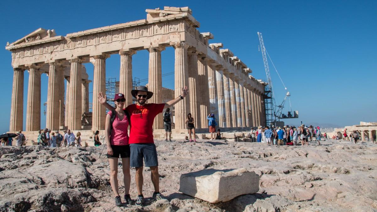 Athènes, une cité qui se parcours à pied