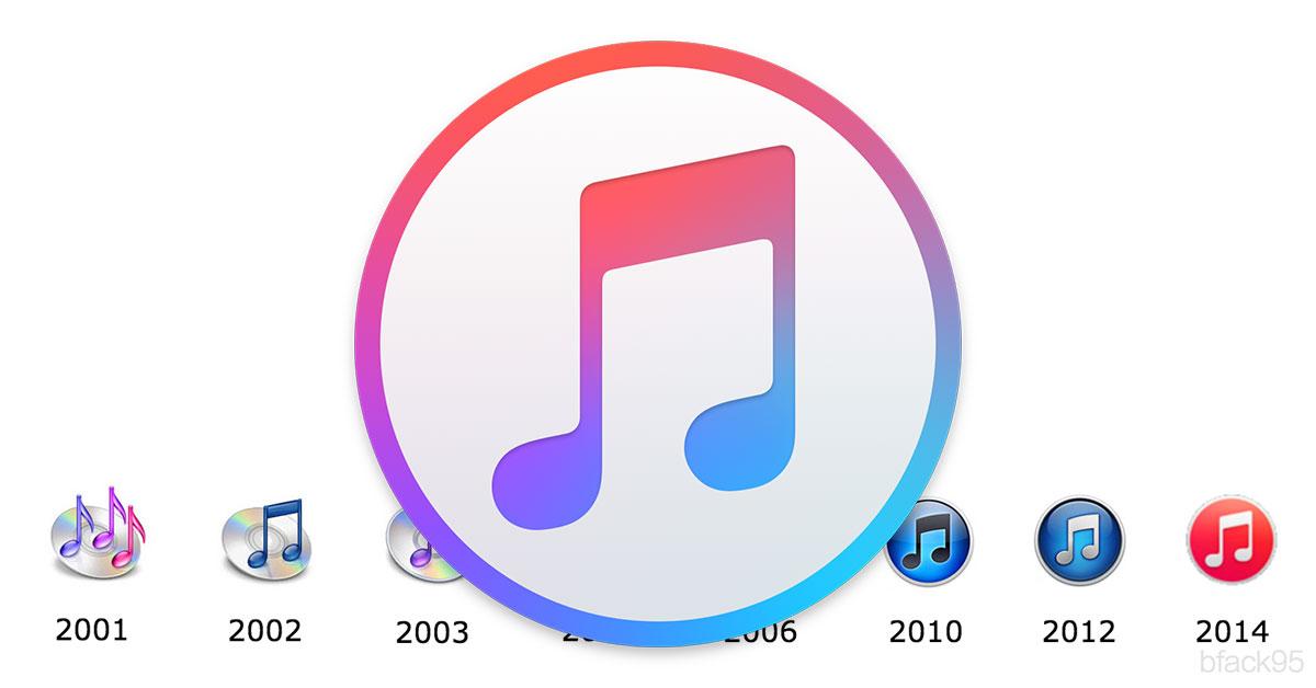 Logo de l'application iTunes