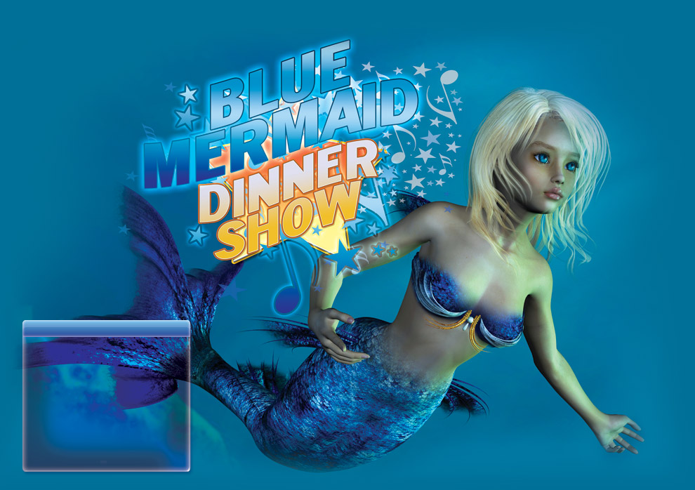 Blue Mermaid Dinnershow