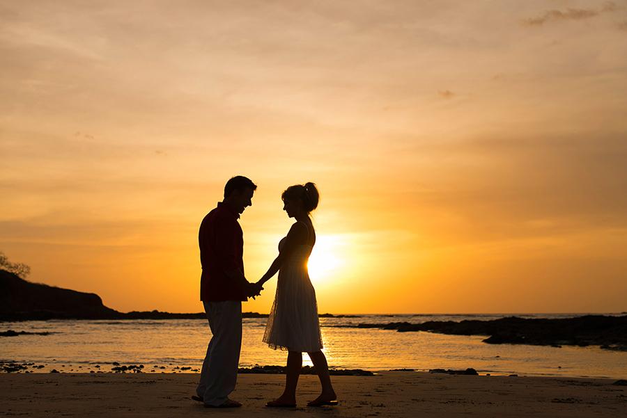 capitan suizo hotel tamarindo beach playa costa rica guanacaste elopement destination wedding photographer photography sunset wedding
