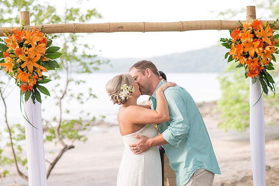 Destination Wedding Hilton Papagayo Resort Costa Rica