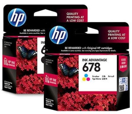 HP DeskJet 2640 Ink Cartridges HP 678
