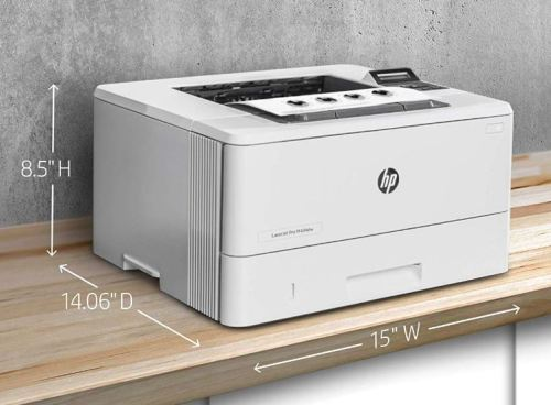 HP Laserjet Pro M404dw Design and Layout