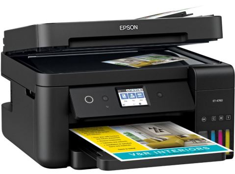 Epson EcoTank ET-4760 Build and Design