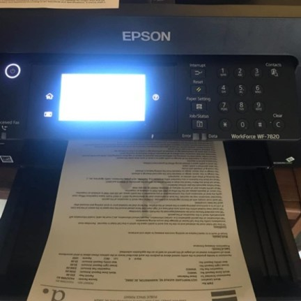 Epson WorkForce Pro WF-7820 Output Quality