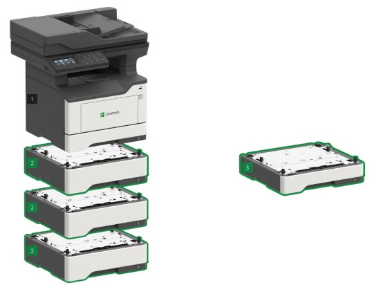 Upgradeable Paper Input Capacity