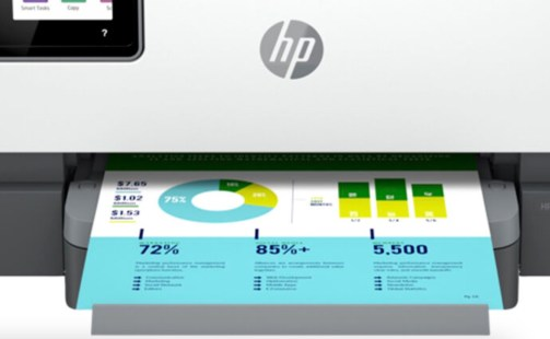 HP OfficeJet Pro 9015e Print Results