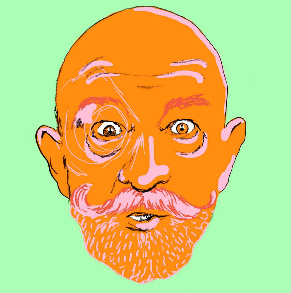 portrett of a man.sylviastolan