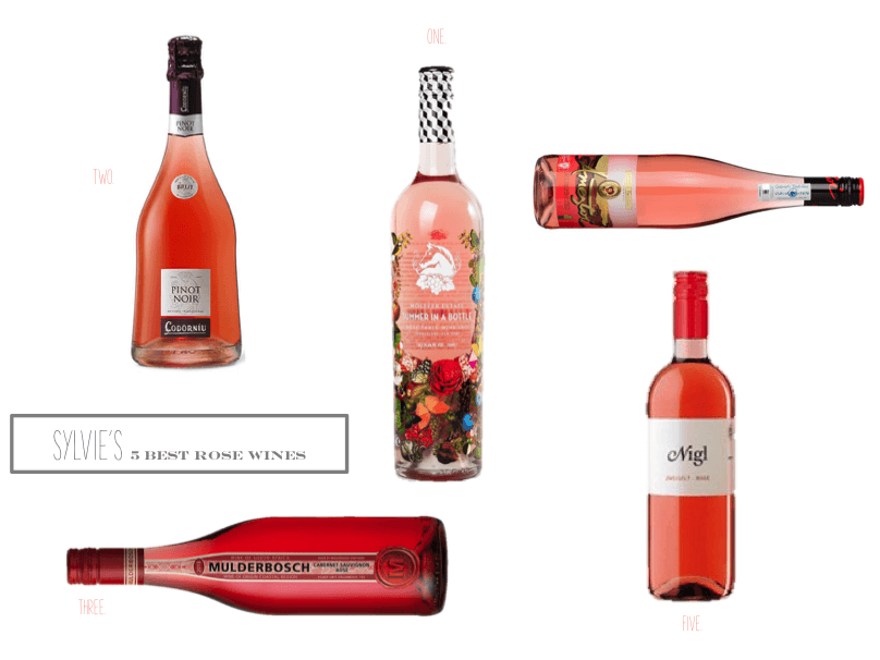 Sylvie in the Sky 5 Best Rose Wines