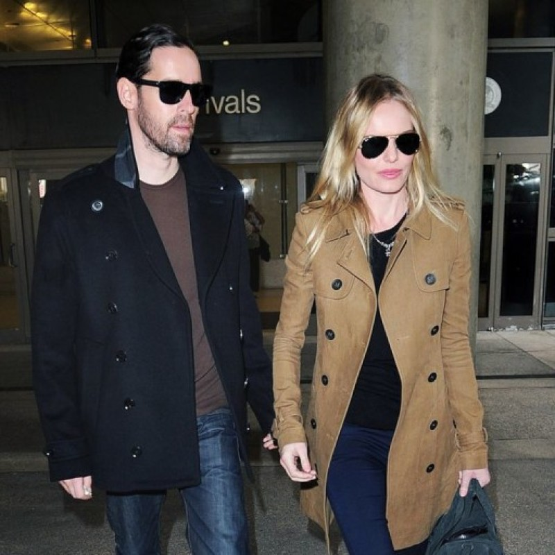 Sylvie in the Sky / Winter Style Guide / 8 Classic Coats It Girls Love / KATE BOSWORTH / THE TRENCH COAT