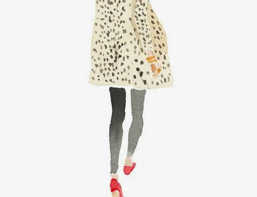 Sylvie in the Sky / Winter Style Guide / 8 CLASSIC COATS It Girls Love / Leopard Coat by Caitlin McGauley / Tiger Flower Studio