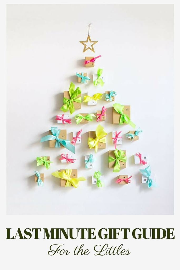 sylvie in the sky // last minute holiday gift guide for toddlers // neon advent calendar // oh happy day
