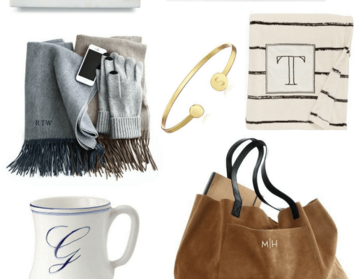 GUIDE: MONOGRAM & PERSONALIZED GIFTS