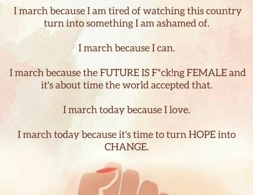 Women's March #WomensMarch #WhyIMarch #IMarchFor-2-2
