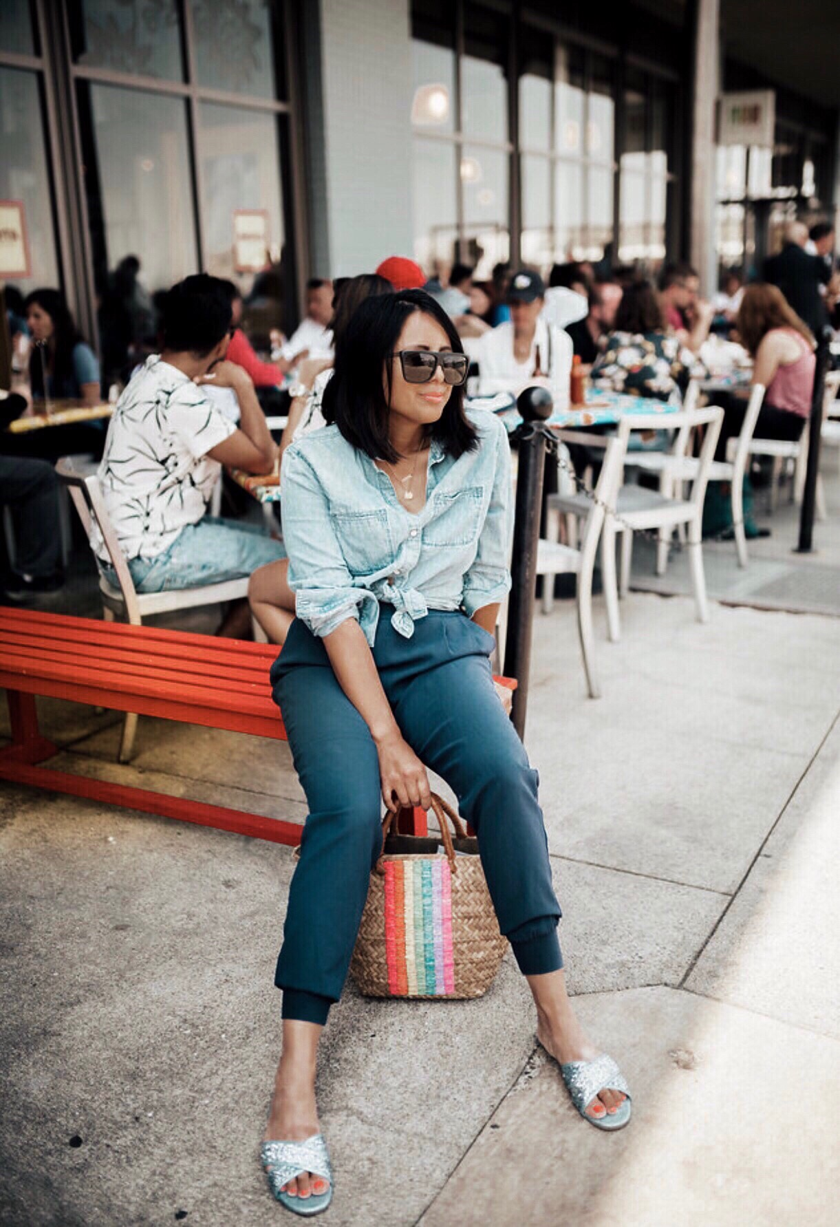 The Best Summer Straw Bags featured by popular San Francisco style blogger Sylvie In The Sky