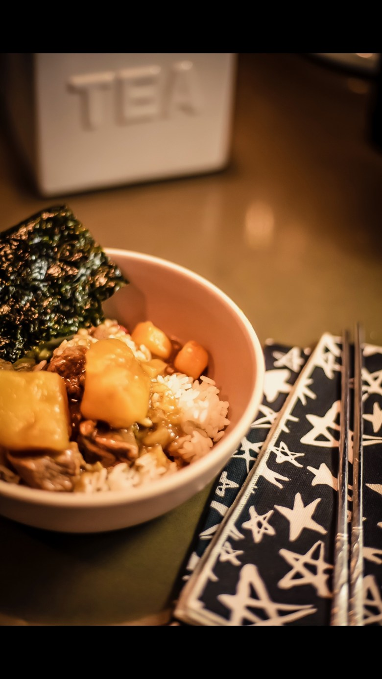 EAT: INSTANT POT JAPANESE CURRY RECIPE featured by top San Francisco foodie blogger Sylvie in the Sky