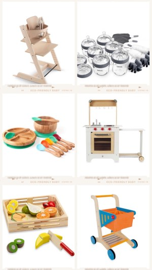 best eco organic baby registry essentials