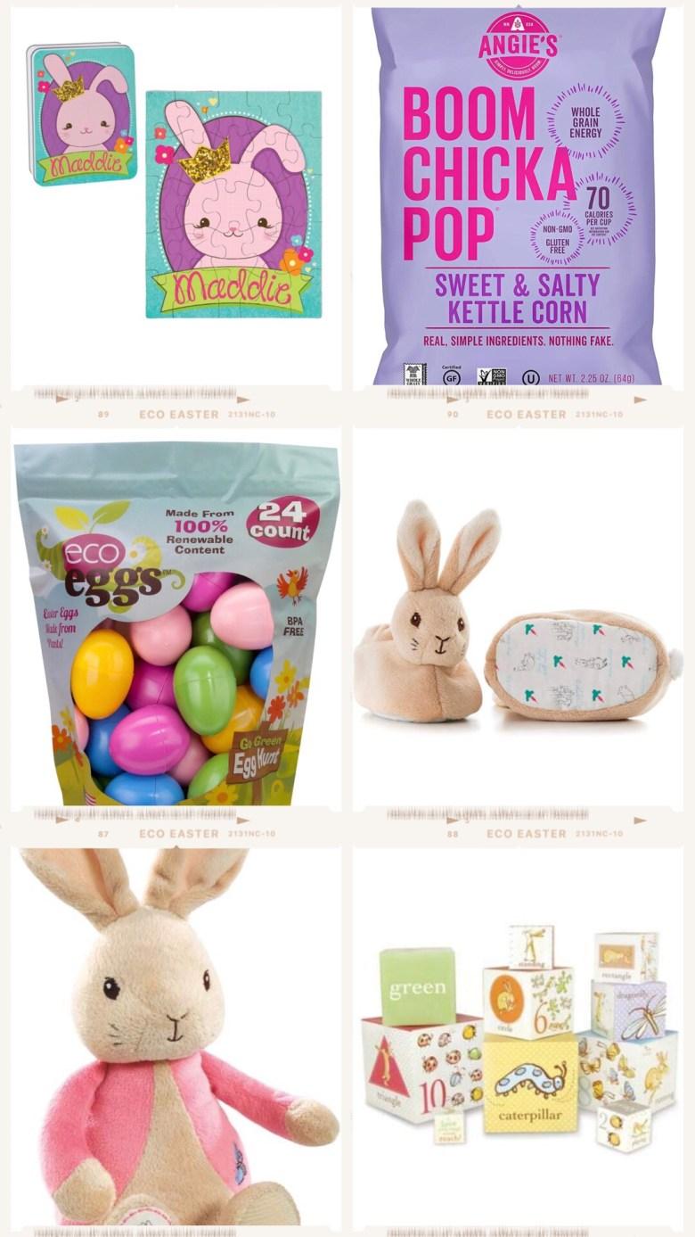 Healthy Easter Basket Ideas featured by top US mom blogger Sylvie in the Sky