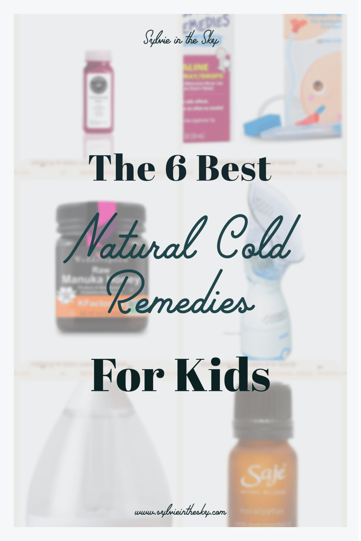 Natural Cold Remedies for Kids featured by top US mom blogger Sylvie in the Sky
