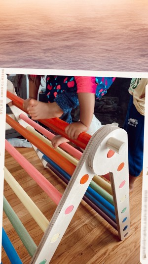 Home Eco-Playground Montessori pikler triangle Ideas