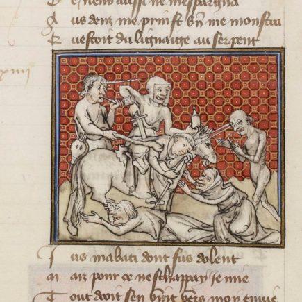 Guillaume de Digulleville (1295?-1380?). Auteur du texte