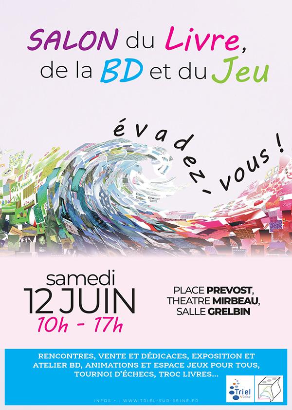 Salon du livre et de la BD de Triel-sur-Seine