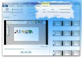 Windows Movie Maker - zuschneiden