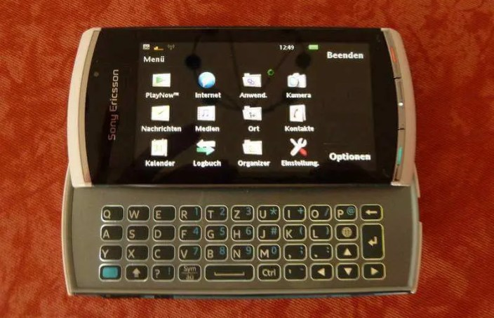 Bild - Integrierte Qwertz-Tastatur