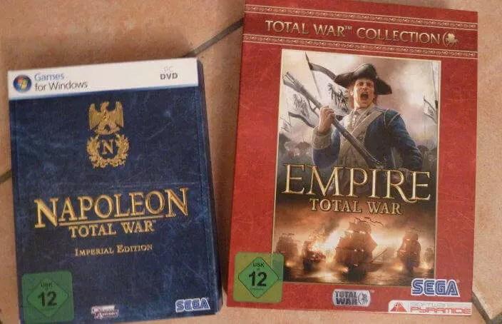 Napoleon und Empire Total War