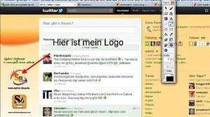 Screenshot mit Zusatzinfos
