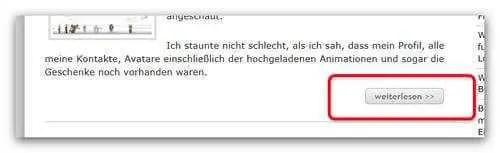 Bild - Weiterlesen-Button per CSS