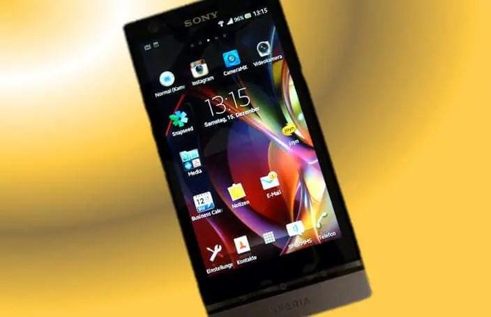 Mein Begleiter Sony Xperia P