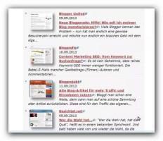 Blogroll-Seite