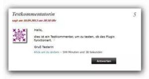 Editierfunktion Link