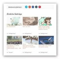 Anzeige von sechs ähnlichen Beiträgen mit Thumbnails