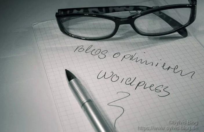 Blogoptimierung und Spamschutz