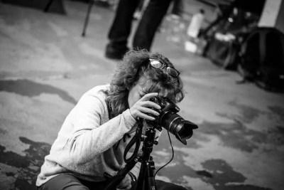 Sylvi beim Fotowalk