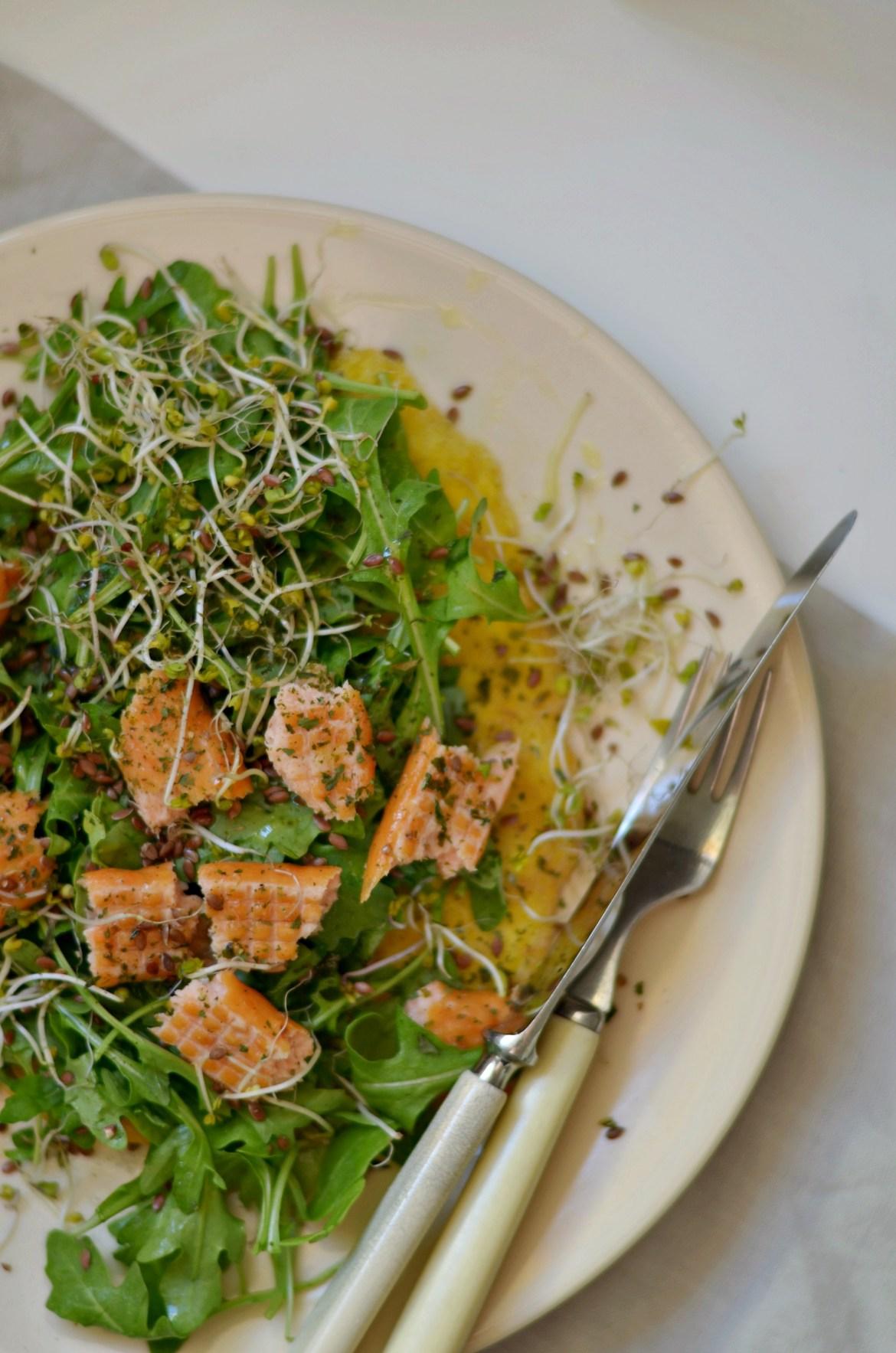 pmlet na słono z warzywami