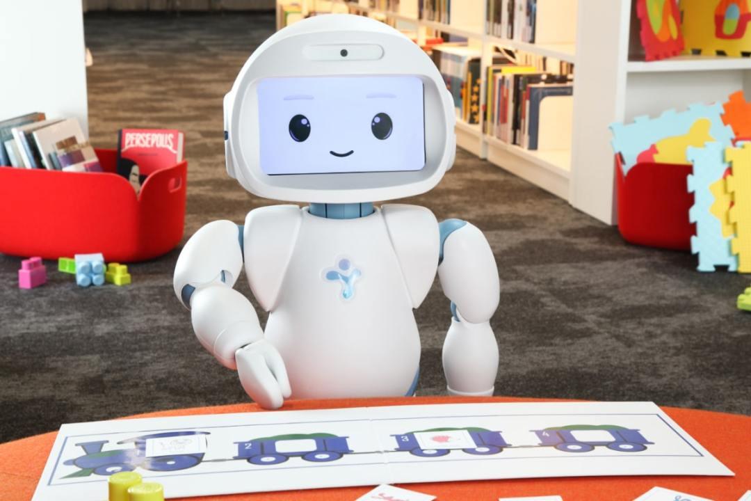 QTrobot pour l'apprentissage des enfants autistes